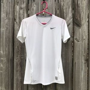 Nike Pro Fitted V Neck